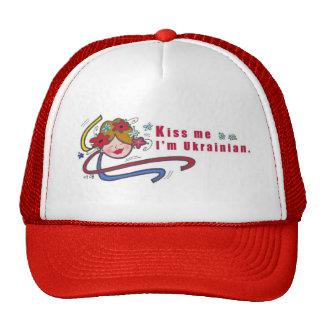 Kiss Me I'm Ukrainian Cap