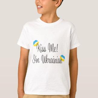 Kiss Me! I'm Ukrainian T-Shirt