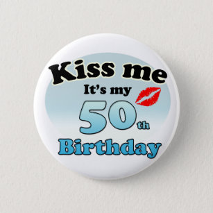 706cde8da 50th Birthday Kiss Gifts & Gift Ideas | Zazzle UK