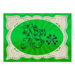 KISS ME, LACE & LIGHT RAYS by SHARON SHARPE Cards