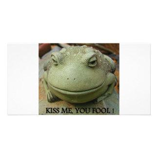 KISS ME CUSTOM PHOTO CARD