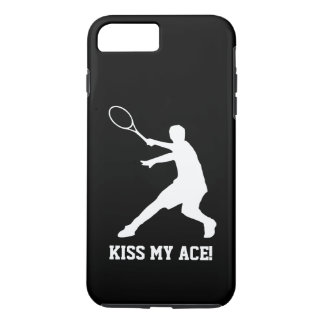 KISS MY ACE funny tennis player quote personalized iPhone 8 Plus/7 Plus Case