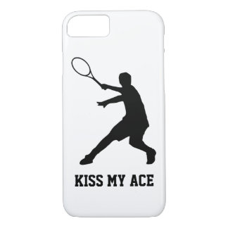 KISS MY ACE iPhone 7 case tennis phone cover