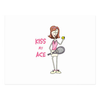 KISS MY ACE POSTCARD