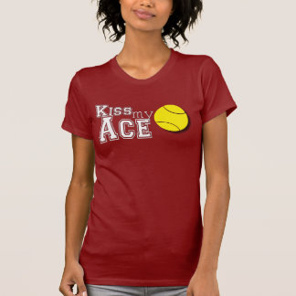 KISS MY ACE TENNIS SHIRT