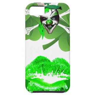 Kiss my arse I'm half Irish Tough iPhone 5 Case