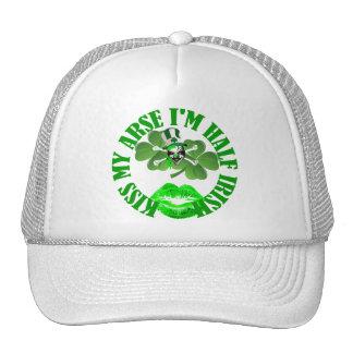 Kiss my arse St Patricks day Cap
