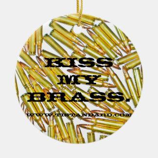 Kiss My Brass Ornaments