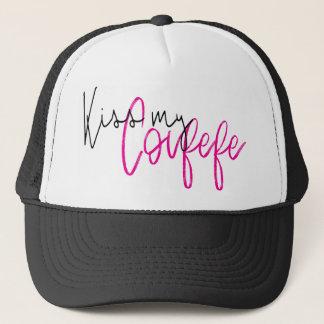 KISS MY COVFEFE TRUCKER HAT
