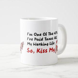 KISS MY DONKEY JUMBO MUG