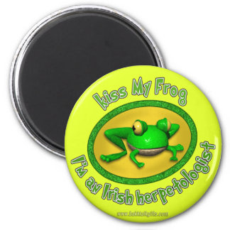 Kiss My Frog Magnet