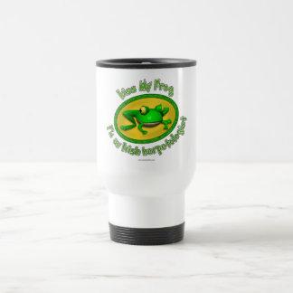Kiss My Frog Mugs
