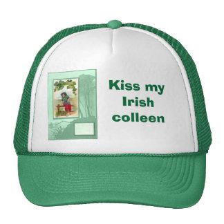 Kiss my Irish  colleen Cap