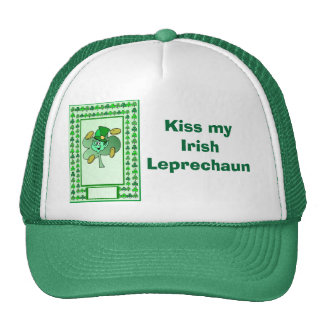 Kiss my Irish  Leprechaun Cap