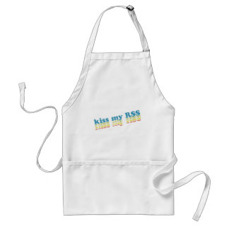 Kiss My RSS Adult Apron