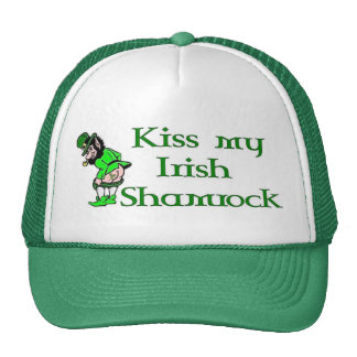 Kiss My Shamrock Cap