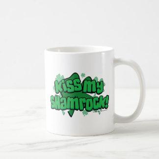 Kiss My Shamrock Coffee Mug