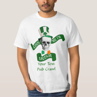 Kiss my shamrocks St Patrick's day T-Shirt