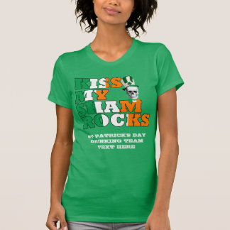Kiss My Shamrocks T-Shirt
