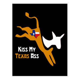 Kiss My Texas Ass Postcard