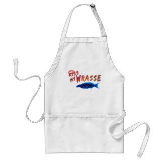 Kiss My Wrasse Fish #2 Standard Apron