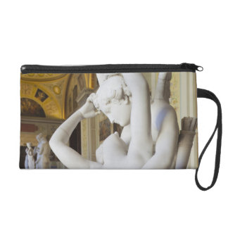 Kiss of Cupid and Psyche, by Antonio Canova 2 Wristlet Purse