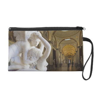 Kiss of Cupid and Psyche, by Antonio Canova Wristlet Purses