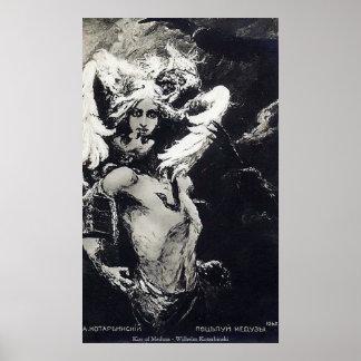 Kiss of Medusa - Wilhelm Kotarbinski Posters