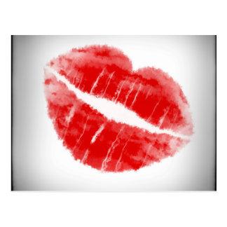 Kiss... Postcard