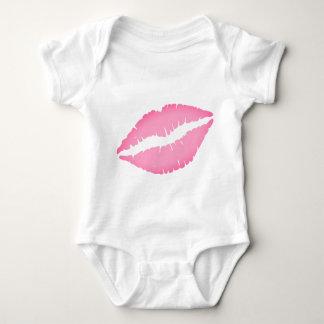 Kiss Print Baby Bodysuit