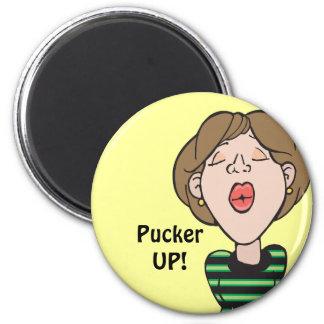 Kiss Pucker Up Magnet