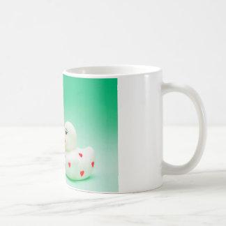 Kiss Rubber Ducks Basic White Mug