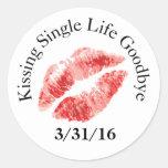 Kiss Single Life Goodbye Stickers