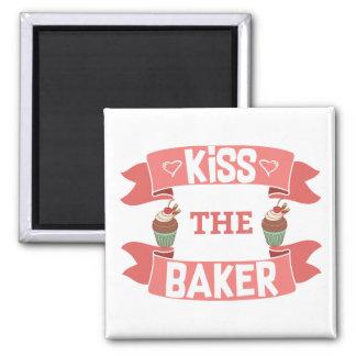 Kiss the Baker Magnet