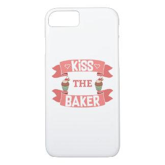 Kiss the Baker Phone Case