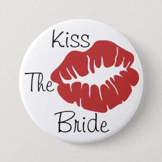 Kiss The Bride 7.5 Cm Round Badge