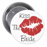 Kiss The Bride Buttons