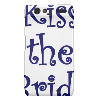 Kiss the Bride Droid RAZR Covers