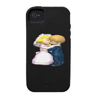 Kiss The Bride iPhone 4/4S Cover