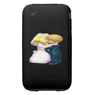 Kiss The Bride Tough iPhone 3 Cover