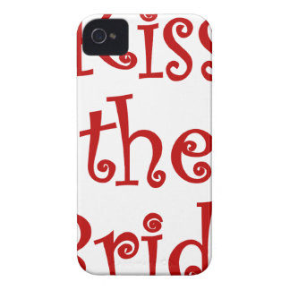 Kiss the Bride Case-Mate iPhone 4 Case