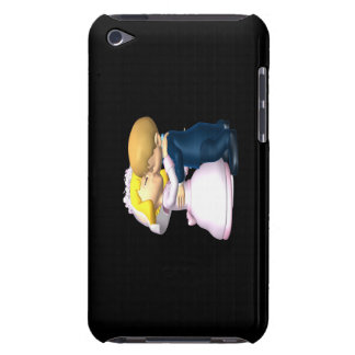 Kiss The Bride Barely There iPod Cases
