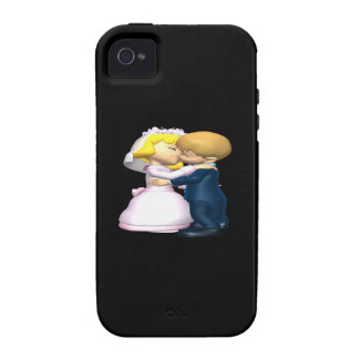 Kiss The Bride Case-Mate iPhone 4 Cases