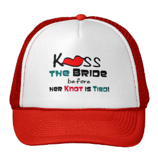 Kiss the Bride Hat