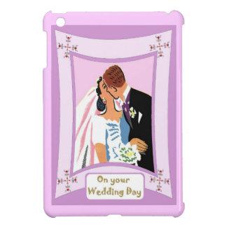 Kiss the bride iPad mini case