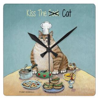 Kiss The Cat Wallclock