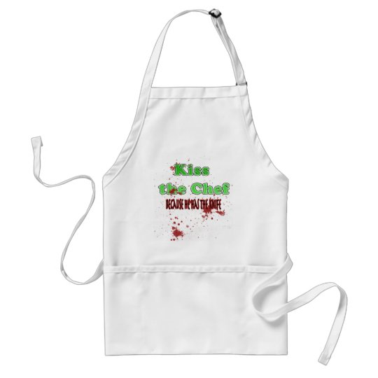 Kiss the Chef M Standard Apron