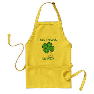 KISS THE COOK, I'M IRISH! STANDARD APRON