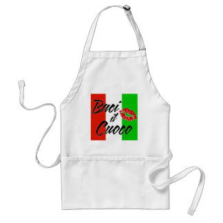 Kiss The Cook (Italian) Standard Apron