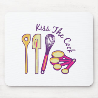 Kiss The Cook Mousepads
